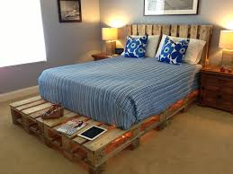 bed frame popular how many pallets for a queen house interiors 19