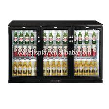 mini refrigerator with glass door