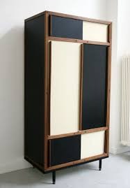 furniture design cupboard. dresser by andr sornay in the style of charlotte perriand mahogany frame laquered panels furniture design cupboard
