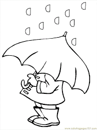 Weather Coloring Pages Preschool#286059