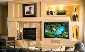 Small Picture Modern home entertainment media wall design with contemporary