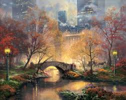 thomas kinkade paintings value after famous art