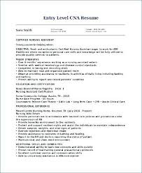 Cna Resume Examples Beauteous Resumes For Cna Resume Summary Examples Unique Job Resume Resume