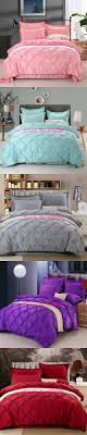 4pcs Bedding Set Silk Cotton King Queen Twin size Duvet Cover Bed Sheet Bed  Linen Bedclothes