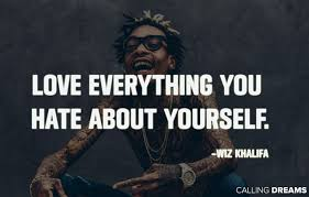 Quotes About Mesmerizing 48 Best Wiz Khalifa Quotes About Life And Love
