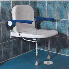 advanced wall mounted shower seat low