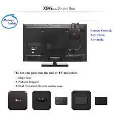 X96 MINI Android 9.0 4K Smart TV BOX Keyboard Quad Core WIFI HD Media  Streamer