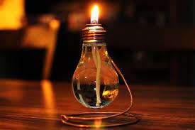 Oil Lamp Light Light Bulb Oil Lamp 20 00 Via Etsy Wonder If I Can Make