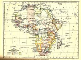 the scramble for africa  africa map 1892