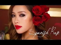 danna little cute make up tutorial valentines day spanish rose by mice phan using geo holicat