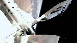 fully crewed flight of VSS Unity