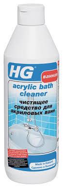 "<b>Чистящее средство</b> ""HG"" для акриловых <b>ванн</b>, 500 мл — купить в ..."