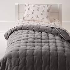 velvet dark grey toddler bedding