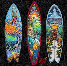 2010 drew brophy custom surfboard painting on hand painted surfboard wall art with custom painted surfboard fine art by drew brophy