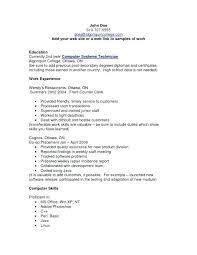 Computer Skills Resume Example Template Adorable Templates Computer Skills Cv Resume Mysticskingdom