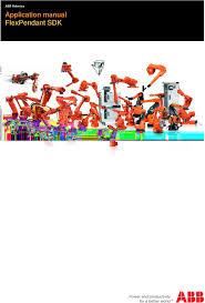 1 abb robotics manual flexpendant sdk
