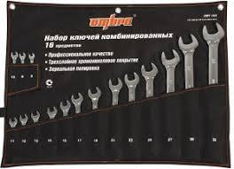 OMT16S <b>Набор ключей гаечных комбинированных</b> в сумке, 8-32 ...