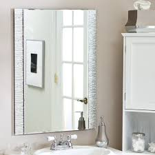 Pinterest Bathroom Mirrors Bathroom Mirror Ideas Pinterest Round Light Brown Fabric Covered