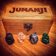 Wooden Jumanji Board Game Replica Jumangi Board Game 100
