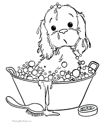 Easy Printable Dog Coloring Pages Psubarstoolcom
