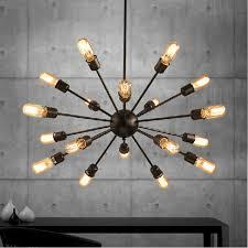 Image Rustic Mordern Nordic Retro Pendant Light Edison Bulb Lights Fixtures Lustre Industriel Iron Loft Antique Diy E27 Spider Ceiling Lamp Aliexpress Mordern Nordic Retro Pendant Light Edison Bulb Lights Fixtures