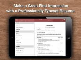 Resume Star: Top Rated Resume Designer For The Iphone, Ipad, And ...
