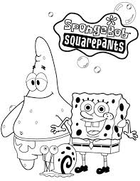 Coloring Pages For Kids Spongebob Squarepants Coloring Pages