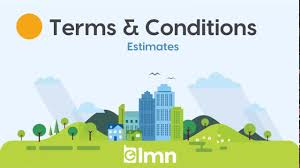 Lmn Estimates Terms And Conditions Youtube