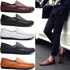 silife ! <b>Men</b> Gentleman <b>British Style</b> PU Leather <b>Loafer Shoes</b> ...