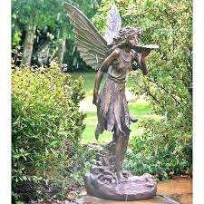 large garden fairy statues standing resin statue for big ga large fairy garden statue standing resin