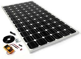 solar panel kit 150w