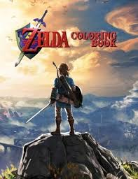 You can print or color them online at getdrawings.com for absolutely free. Zelda Coloring Book By Zelda Media