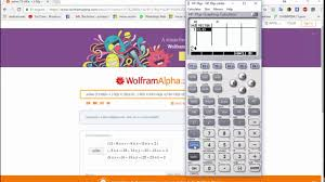 solving a system of equations 3x3 complex hp 39gs
