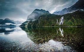 hd wallpaper crystal clear water lake