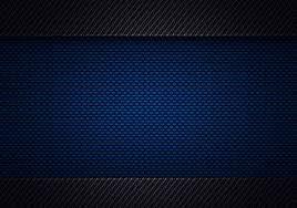 Abstract Modern Blue Black Carbon Fiber Textured Material