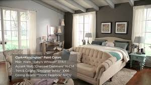 One Wall Color Bedroom One Bedroom Three Different Paint Color Ideas Clark Kensington