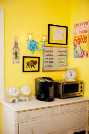 yellow coffee corner attractive coffee bar home 4