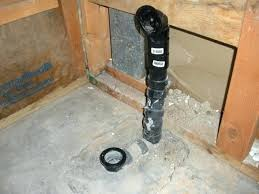 install tub drain replacement installing a new bathtub off by 1 2 worth busting concrete plumbing replace tub