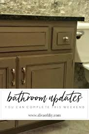 diy bathroom updates 2