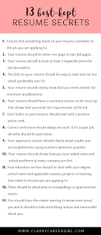 How Many Jobs Should Be Listed On A Resume The 24 BestKept Resume Secrets Tossed Life Hacks And Adulting 21