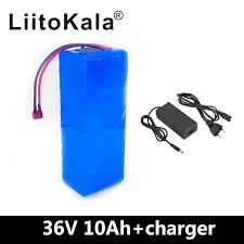 2019 <b>Liitokala</b> 36 V <b>10Ah 10S3P</b> 18650 Rechargeable Battery ...