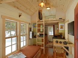 tiny house rustic living room burlington