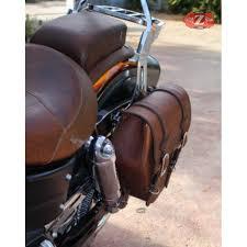 left saddlebag for dyna mod centurion brown leather specifies
