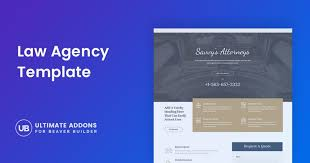 Law Templates An Orderly Page Template For A Law Agency Ultimate Addons For