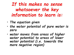 Water Potential Equation Ppt What Is Water Potential Powerpoint Presentation Id 5671343