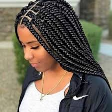 Box Braid Parting Pattern