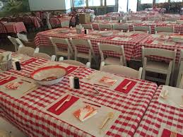 lace gingham tablecloths round lace