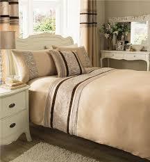 bed linen uk bedding sets luxury bedding sets cream stripe dark brown grey stunning