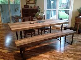 Handmade Solid Oak Dining Table Bench Seat  180cmOak Table Bench