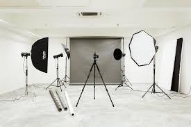 photography design studio table exhibition studio black and white flooring floor interior design